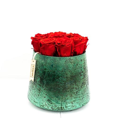Sparkling Green mit 8-10 Rosen