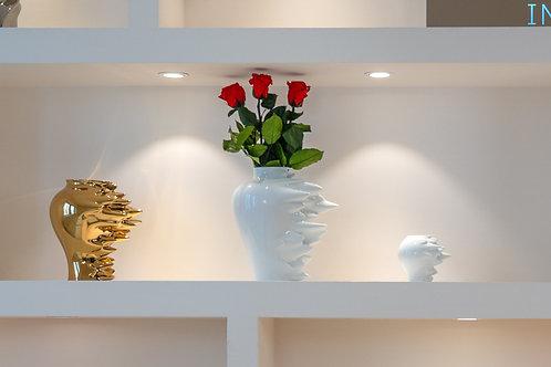 Rosenthal Vase Fast mit Infinity Rosen