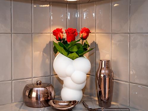 Rosenthal Vase Skum mit Infinity Rosen