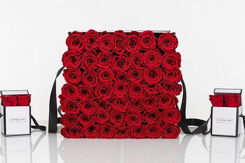 Rosenbox Endless Beauty mit 45-55 Rosen
