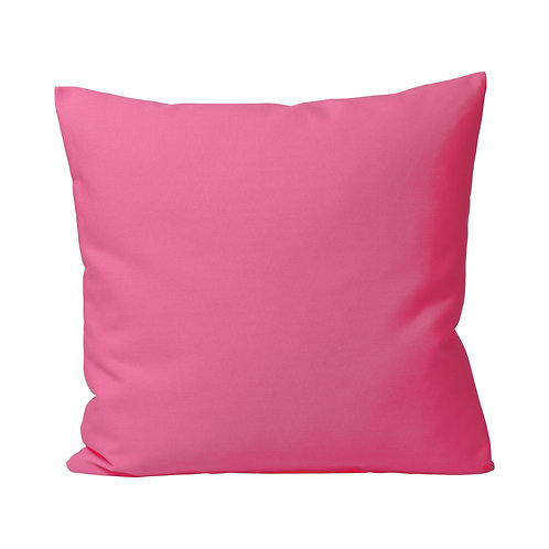 Kissenhülle pink outdoor 40x40 cm