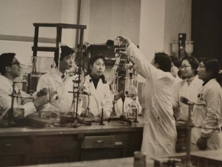 1960年代の大学の授業風景          2020年12月