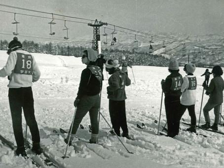 赤倉でのスキー実習        2021年2月