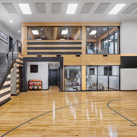 Horace Sport Court Addition