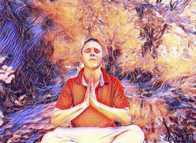 @realness112 Meditation!! Trippy Art