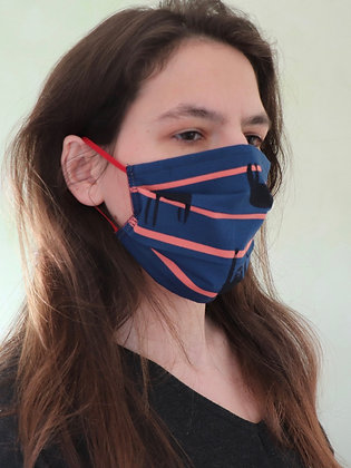 Masque Motif 34 Paresseux