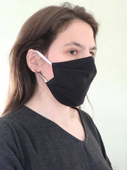 Masque Motif 16 noir