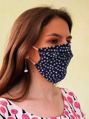 Masque 52 fleur Bleu