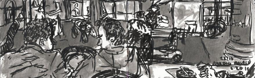 Amsterdam sketchbook spread 2
