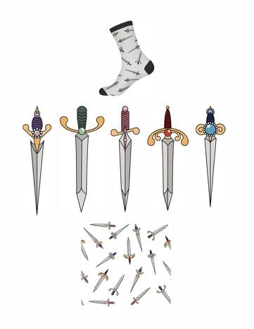 Dagger Socks
