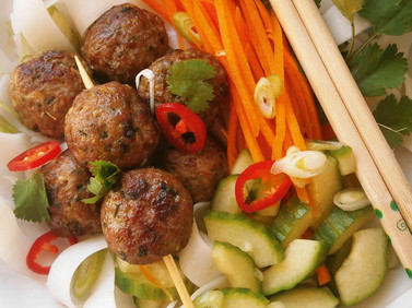 Vietnamese pork balls