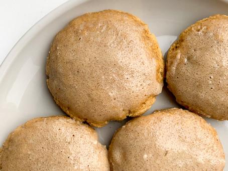 Vanilla Cookie Scones (GF, DF)