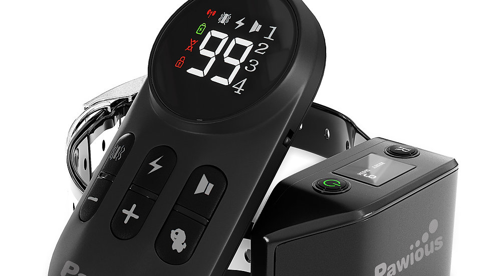 Pawious Dog Training Collar with Remote