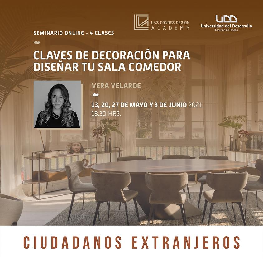 """""""Claves de Decoración para Diseñar tu Sala Comedor"""" por Vela Velarde; ciudadanos extranjeros"""