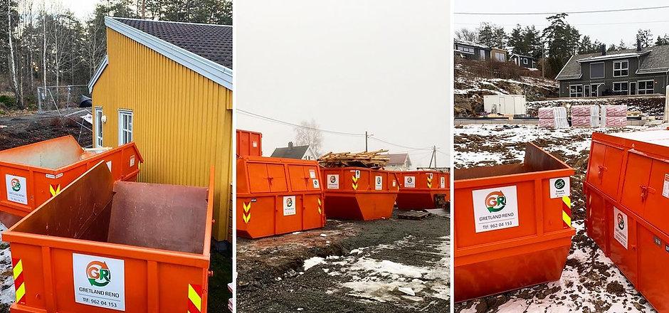 Forsidebilde av søppelcontainere til leie i Moss Fredrikstad Sarpsborg Halden