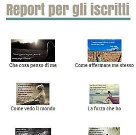 Report iscritti newsletter