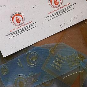 DWRI Letterpress Printing Plate