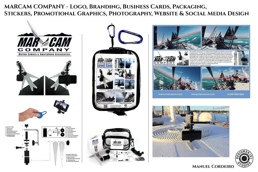 MarCam Company Branding Design & Logo Design in RI