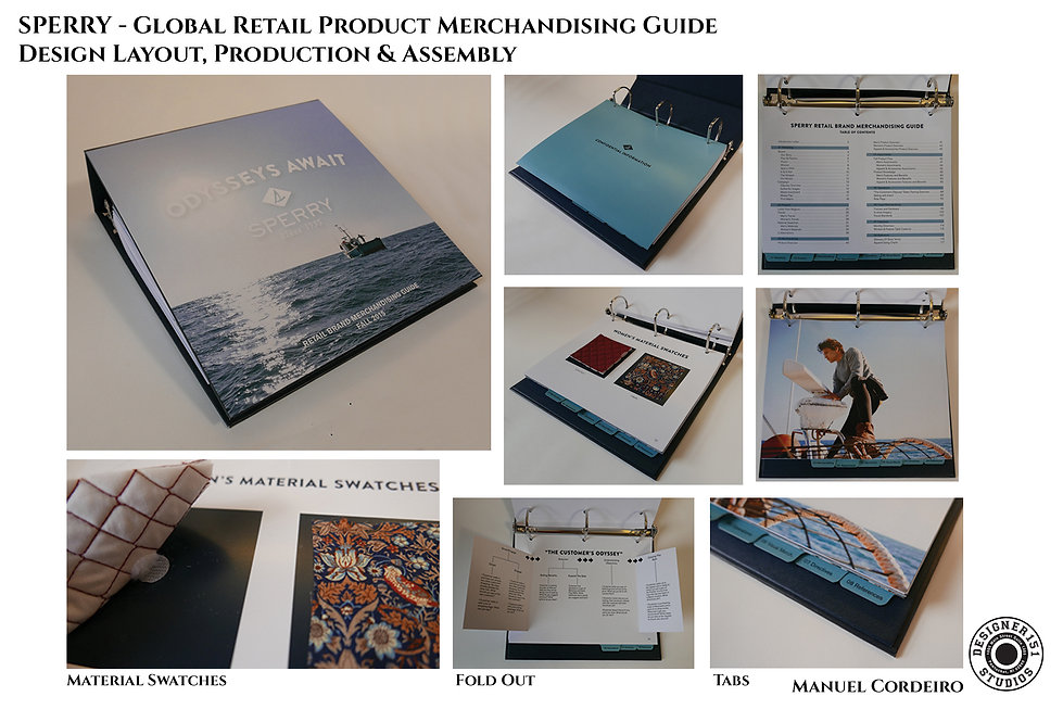 Global Retail Merchandising Guide Binder