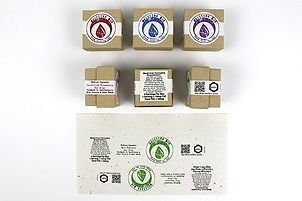 sustainable packaging design by Designer151 Studios, RI.