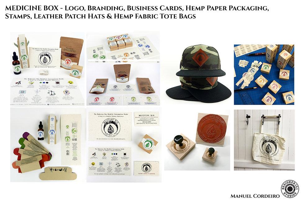 Medicine Box Brand Design forCannabis Medicinal Medicine
