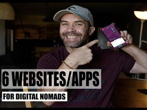 6 websites/app Every Digital Nomad Should Bookmark | Season 1 / Episode 3