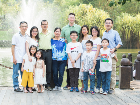 Outdoor extended family sessions