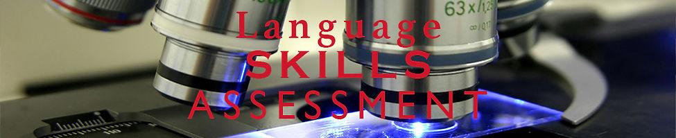 Language Skills Assessment
