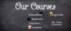 Our Courses -  Education, Business, Classics, Leisure, Corporate, On-line Courses