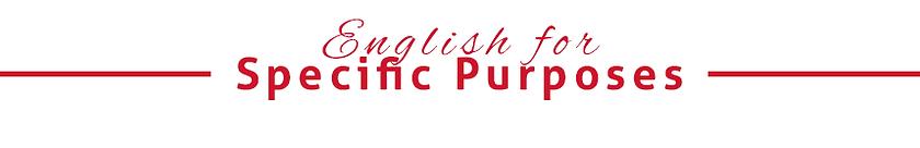 English for Specific Purposes - Corsi di inglese medico, legale, per commercialisti, ingegneri, a Brescia