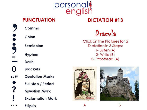 Dictation #13