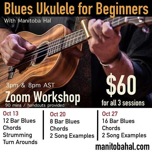 Ukulele Blues For Beginners