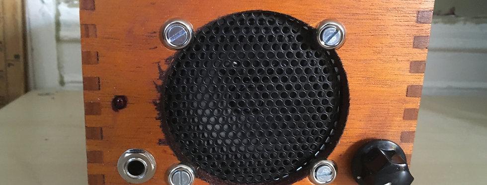Desktop Cigar Box Guitar Amp