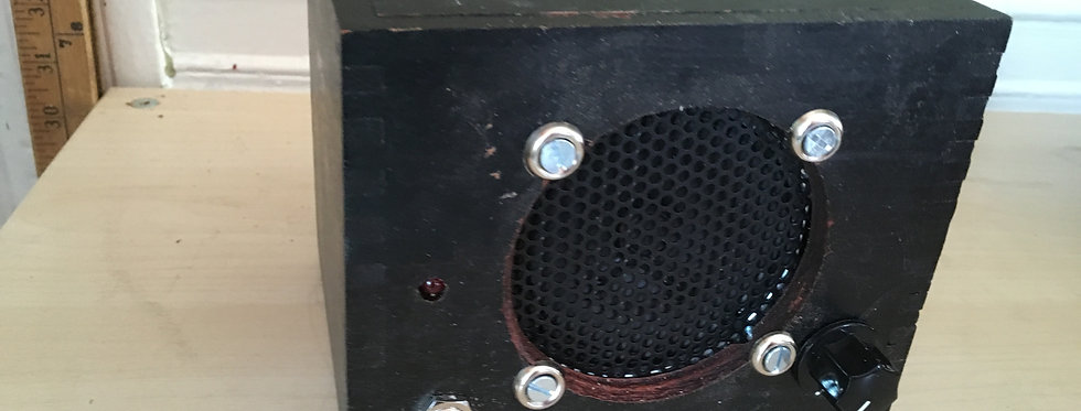 Desktop Cigar Box Amp