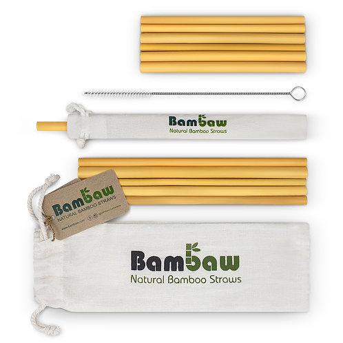 Set de pailles en bambou