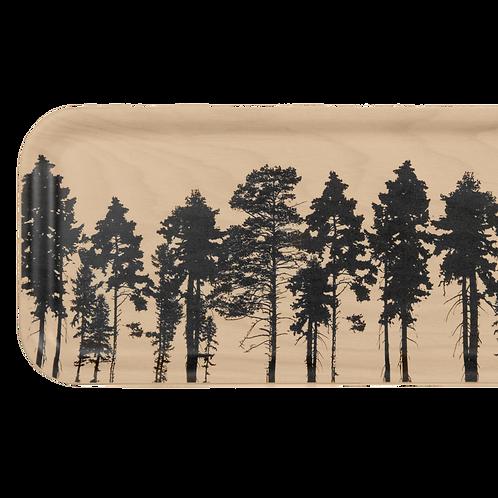 Plateau en bois - La forêt nordique