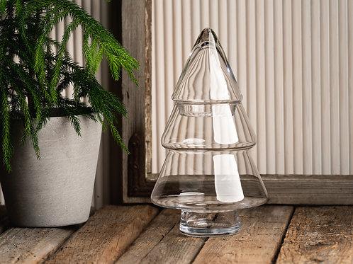 Vase en verre décoratif, le Sapin