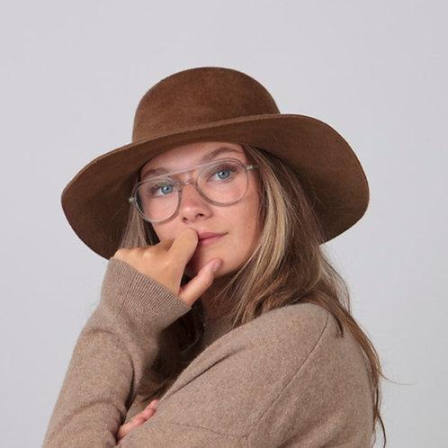 Chapeau Noleta brun