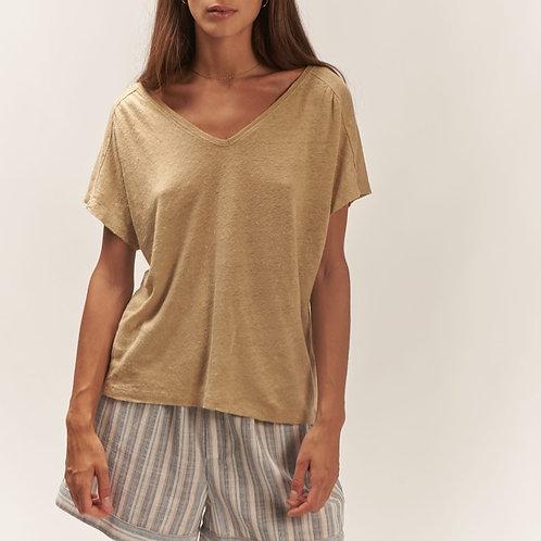 T-shirt en lin ILEX