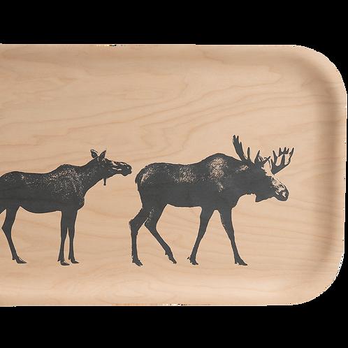 Plateau en bois - La famille Elan