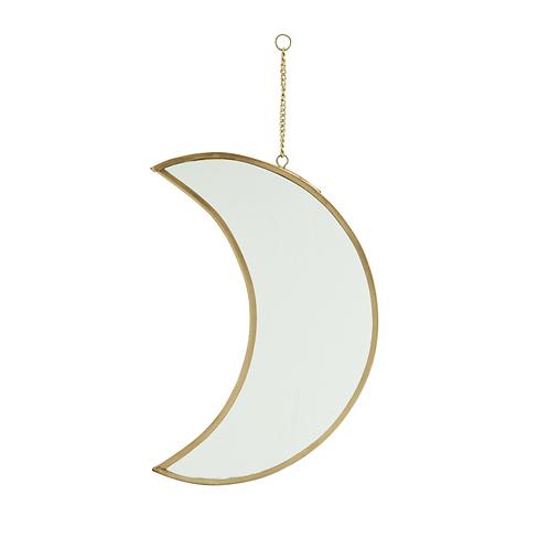 Miroir lune à suspendre
