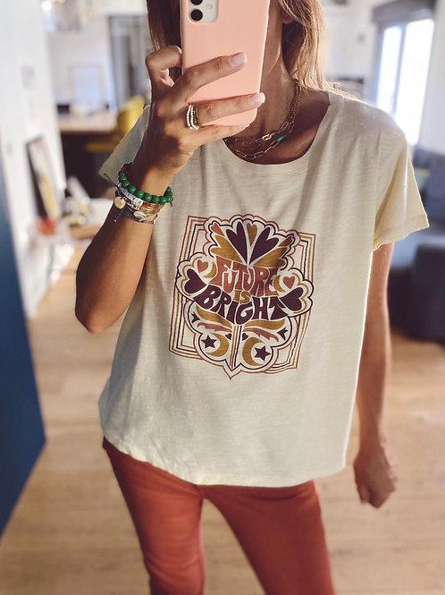 "T-Shirt ""Future is bright"""