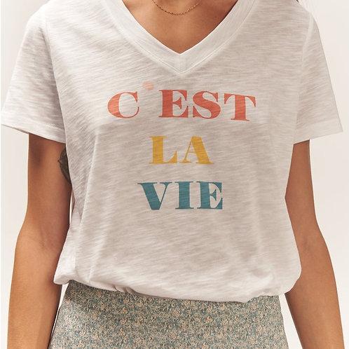 T-shirt en coton biologique PERSEA