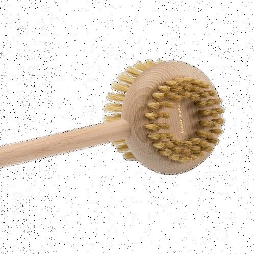Brosse pour le dos en hêtre