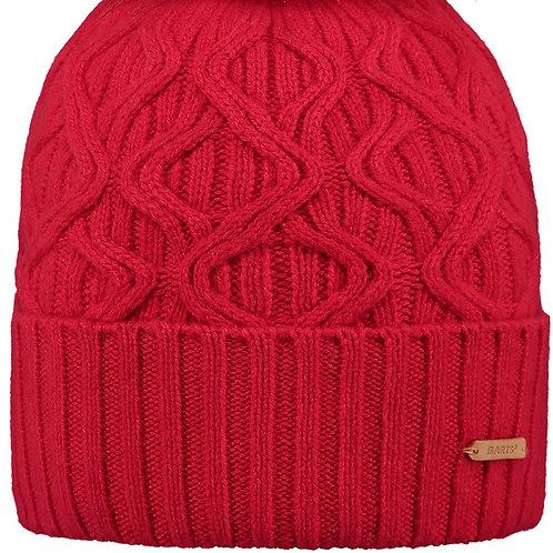 Bonnet Haliana rouge