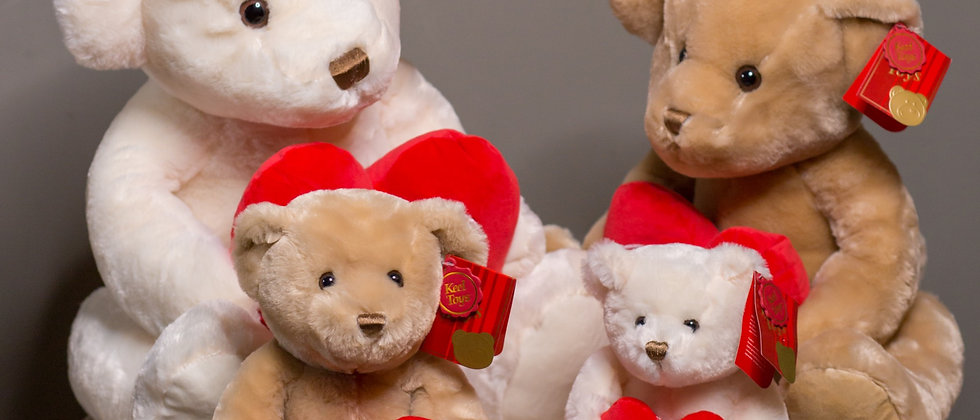 Valentines Bear's- Individually priced