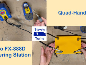 Hakko FX-888D Soldering Station and Quad-Hands