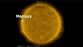 Mercury Transits the Sun