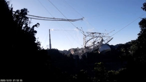 Arecibo Telescope Collapse