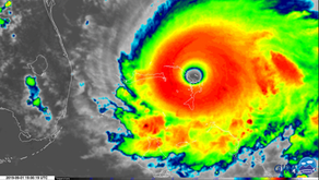 Hurricane Dorian Imagery on September 1, 2019